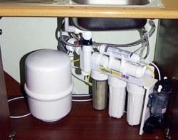 Установка фильтра очистки воды в Анапе, подключение фильтра очистки воды в г.Анапа